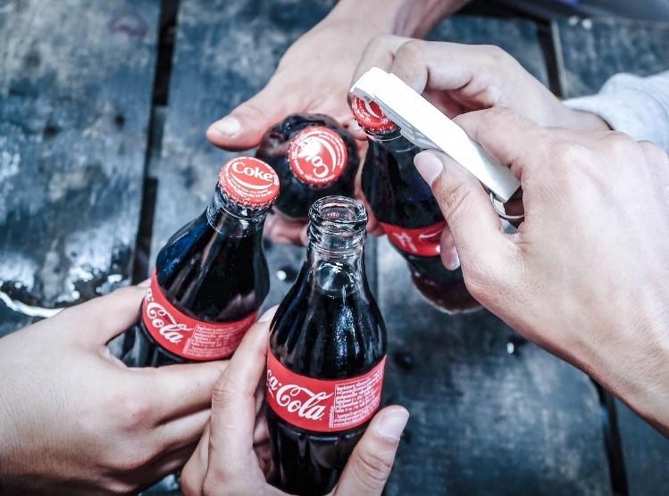 コカ・コーラの絵